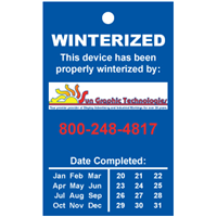 Winterized Tags Style W2, MULTI Color