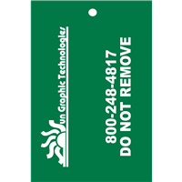 Fire Inspection Tags -BACKSIDE- 1 color (OPTIONAL)